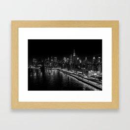 New York Nights Framed Art Print
