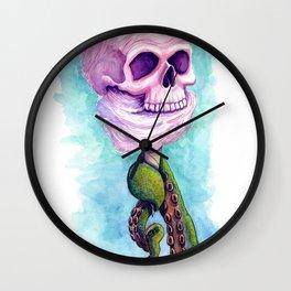 Cotton Candy Cthulhu Wall Clock