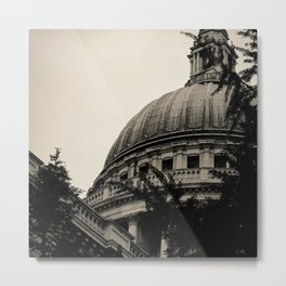 St Paul's Cathedral. Metal Print