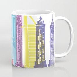 Dubai V2 skyline pop Coffee Mug