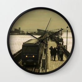 Southend Gold Wall Clock