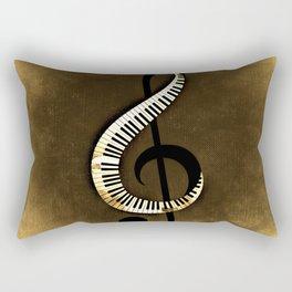Beethoven  Piano Rectangular Pillow