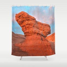 Hellhound Rock Shower Curtain