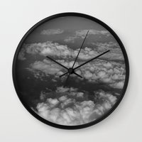 cloud Wall Clocks featuring cloud by habish