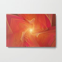 Orange Marmalade Metal Print