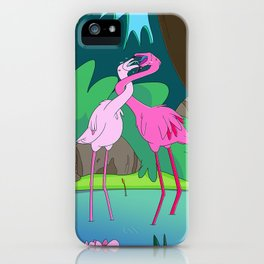 Awkward Romance iPhone Case