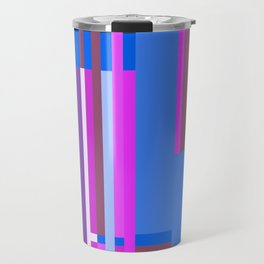 Geometric design - Bauhaus inspired Travel Mug
