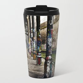 une bouteille trouvée et bu ensembles // and then we found a bottle and drank it together Travel Mug