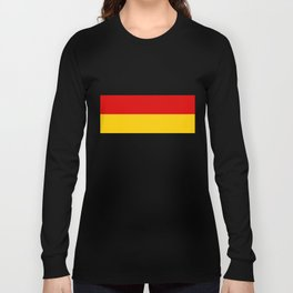 German flag - High Quality version both in scale and color Long Sleeve T-shirt