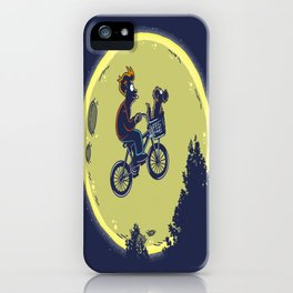 Fry me to the moon iPhone Case