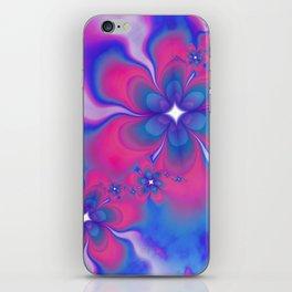 Fleurs Fête Fractal iPhone Skin