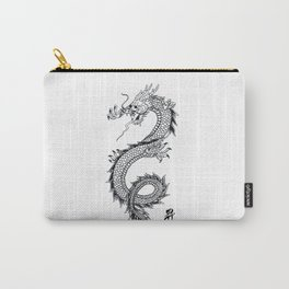 Chinese traditional dragon and signs Carry-All Pouch