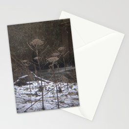 Invasive Species by the River Kelvin Stationery Cards