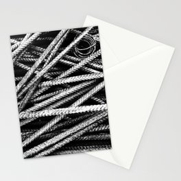 Rebar And Spring - Industrial Abstract Stationery Cards