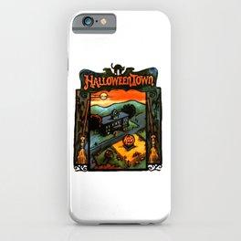 Halloweentown Book iPhone Case