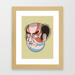 Kabuki to all Framed Art Print