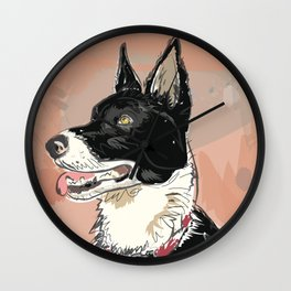 Good Dog Wall Clock