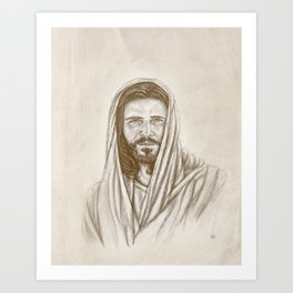 The Savior Art Print