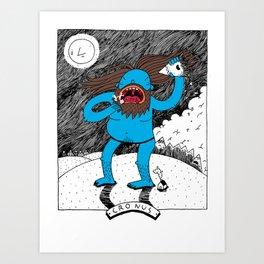 Cronus Art Print