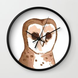 Sweets the owl Wall Clock