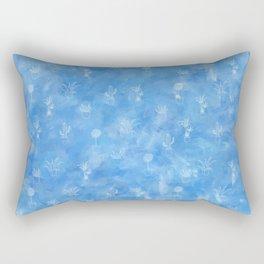 Positive Plant Pattern Rectangular Pillow