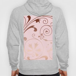 Rose Quartz Gold Komingo Hoody