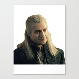 toss a coin to your witcher #1 Canvas Print
