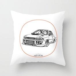Crazy Car Art 0195 Throw Pillow