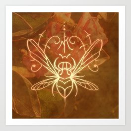 Sigil of the Bee Art Print