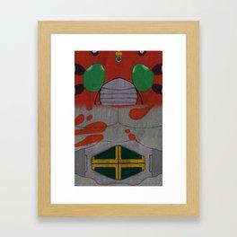 Kamen Rider ZX Framed Art Print
