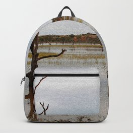 Dead Trees in the River Backpack