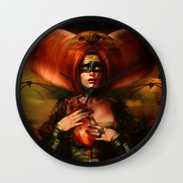The Hiding Place Wall Clock