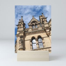 pennine gothic - bradford city hall Mini Art Print