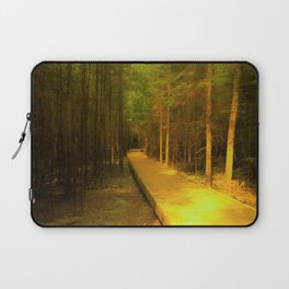 A Long Walk In The Woods Laptop Sleeve
