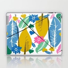Feathers and leafs Laptop & iPad Skin