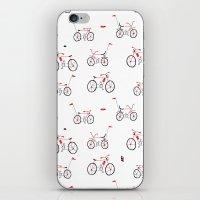 bikes iPhone & iPod Skins featuring bikes by Marcelo Badari
