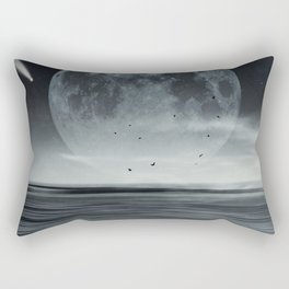 oceans of tranquility Rectangular Pillow
