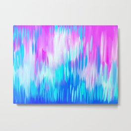 Happy Abstract Paintings Metal Print