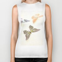 butterflies Biker Tanks featuring Butterflies  by Pure Nature Photos