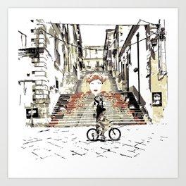Art Stairs Art Print