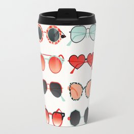 Sunglasses Collection – Red & Mint Palette Travel Mug