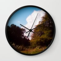 woodland Wall Clocks featuring Woodland by Natural Outlook