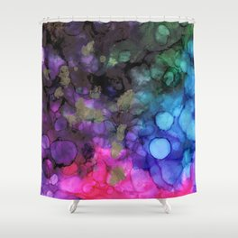 Friday Night Introvert Party Shower Curtain