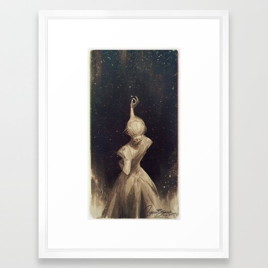 The Old Astronomer Framed Art Print by charliebowater | Society6
