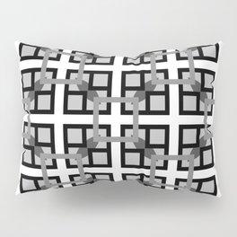 8 Bit Nodes Pillow Sham