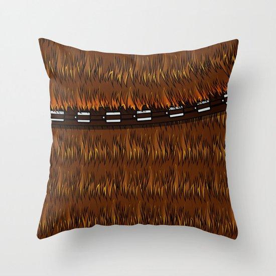 Wookiee talkie Throw Pillow