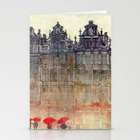 takmaj Stationery Cards featuring Brussels by takmaj