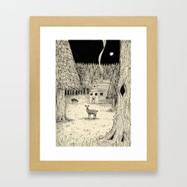 'In The Clearing' Framed Art Print