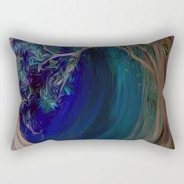 Into the Darkness Rectangular Pillow