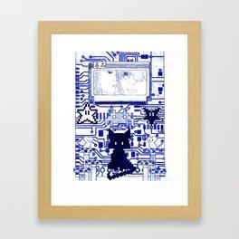 Bootleg Spell VIIIbit Framed Art Print